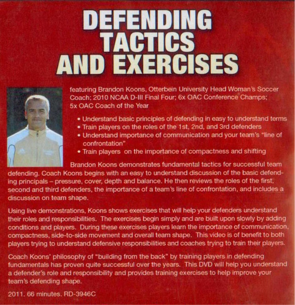 (Rental)-Defending Tactics & Exercises