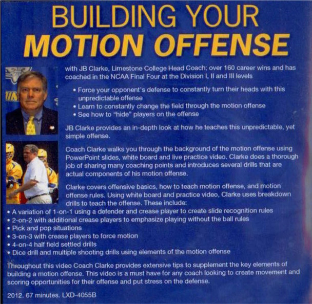 (Rental)-Building Your Motion Offense