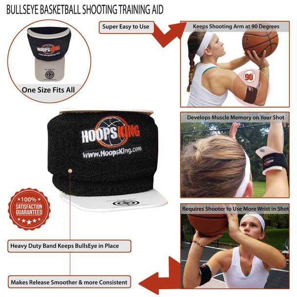 Bulls Eye Basketball Shooting Aid