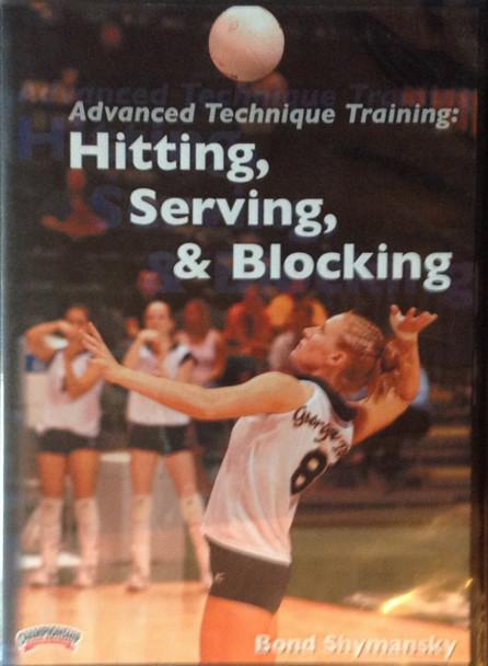 ADVANCED TECHNIQUE TRAINING: HITTING, SERVING & BLOCKING by Bond Shymansky Instructional Volleyball Coaching Video