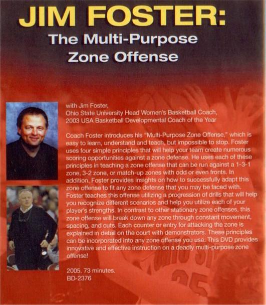 (Rental)-The Multi-purpose Zone Offense