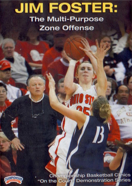 The Multi-purpose Zone Offense by Jim Foster Instructional Basketball Coaching Video