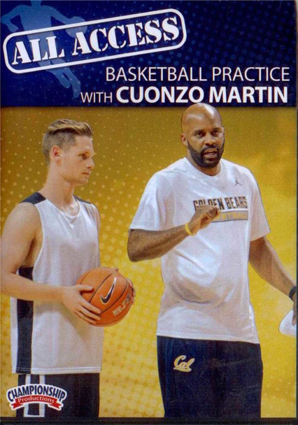 All Access: Basketball Practice With Conzo Martin by Conzo Martin Instructional Basketball Coaching Video