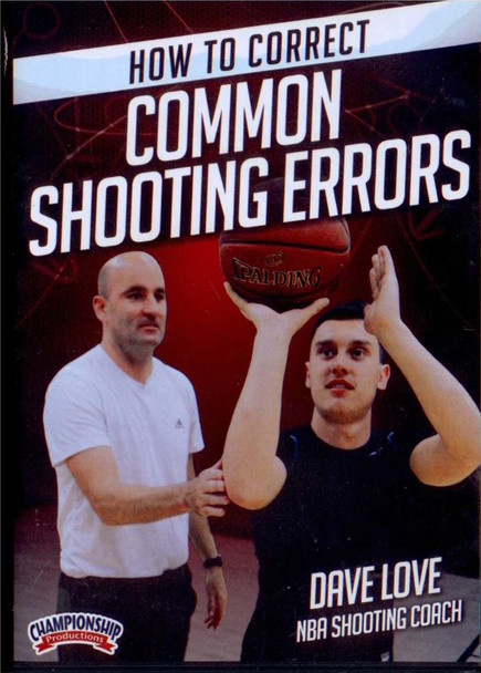 How To Correct Common Shooting Errors by Dave Love Instructional Basketball Coaching Video