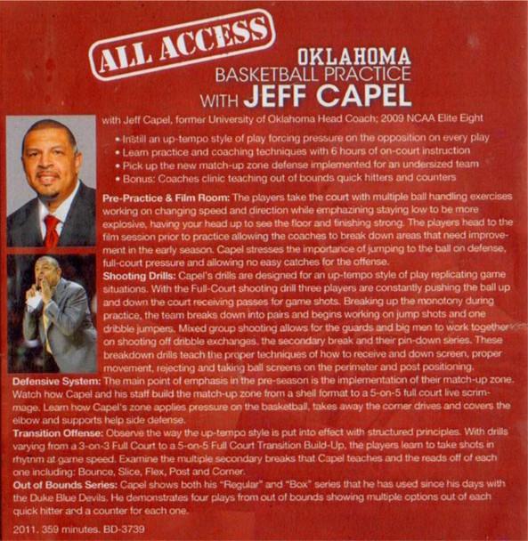Jeff Capel Basketball Practice