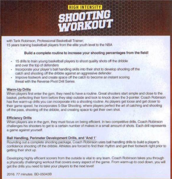 shooting workout for basketball drills