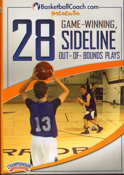 28 Game-winning Sideline Out Of Bounds Plays by Austin McBeth Instructional Basketball Coaching Video