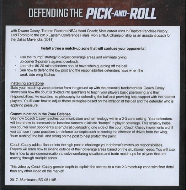 Fist 2-3 Zone Defense by Dwane Casey