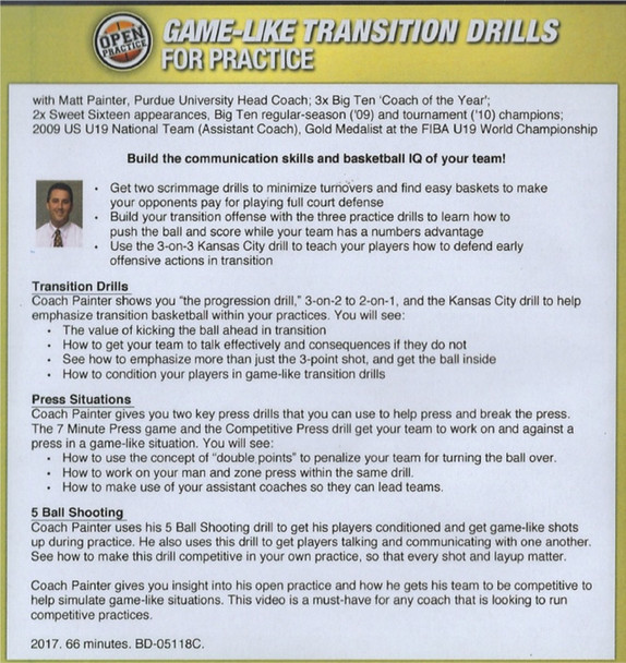 transition drills for basketball