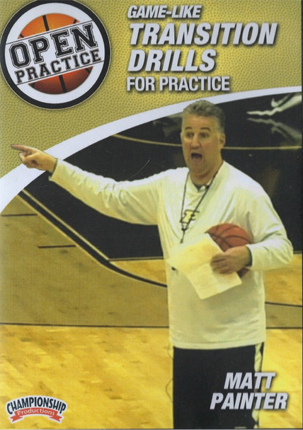 Game-like Transition Drills For Practice by Matt Painter Instructional Basketball Coaching Video