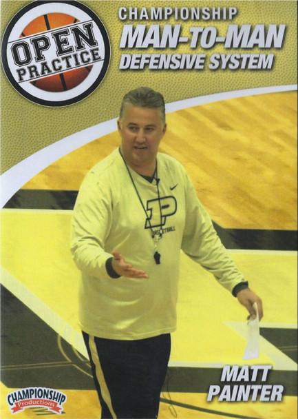 Championship Man To Man Defense by Matt Painter Instructional Basketball Coaching Video