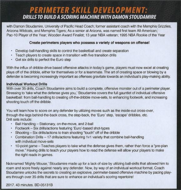 (Rental)-Perimeter Skill Development: Drills To Build Scoring Machine