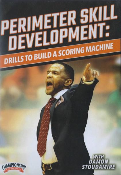 Perimeter Skill Development: Drills To Build Scoring Machine by Damon Stoudamire Instructional Basketball Coaching Video