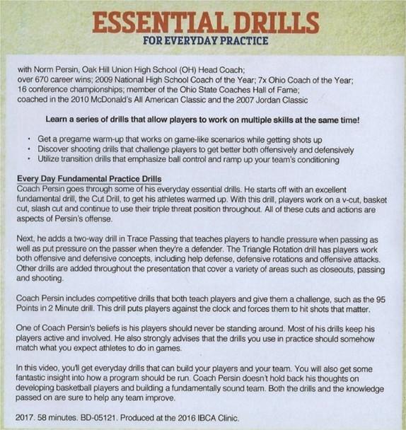daily basketball drills