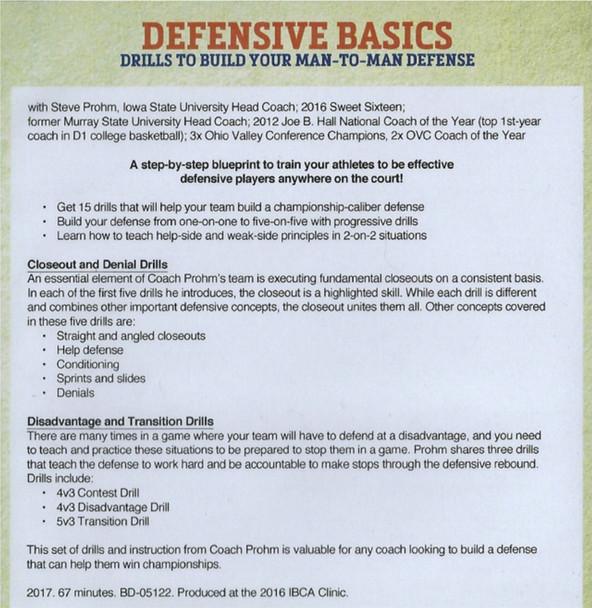 basic defense drills for basketball