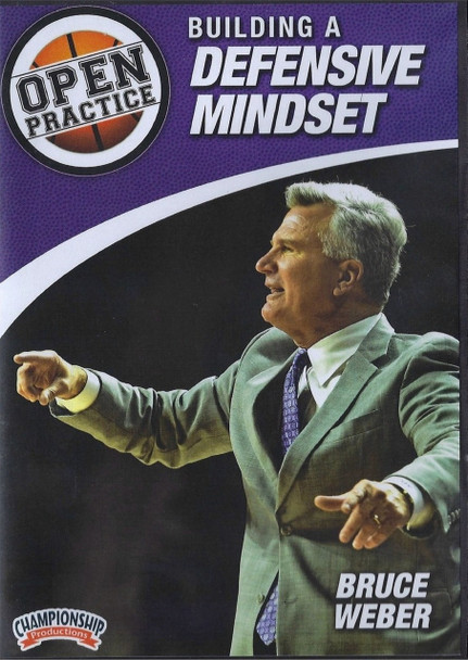 Building A Defensive Mindset by Bruce Weber Instructional Basketball Coaching Video