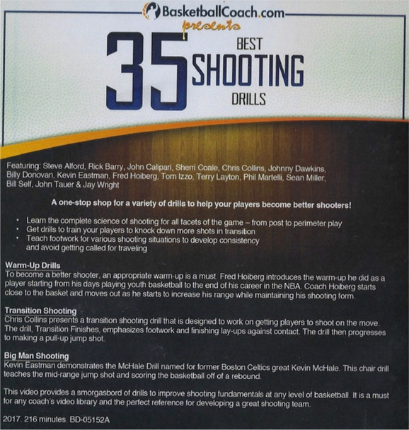 (Rental)-35 Best Shooting Drills