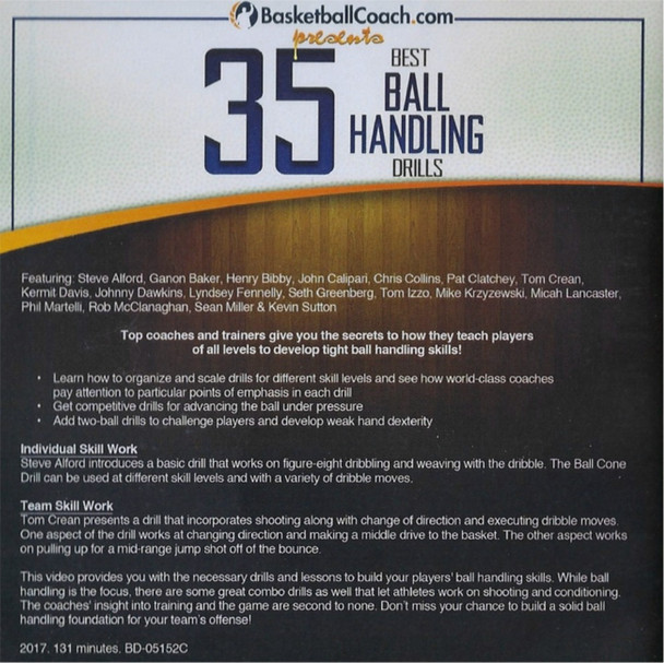 (Rental)-35 Best Ball Handling Drills