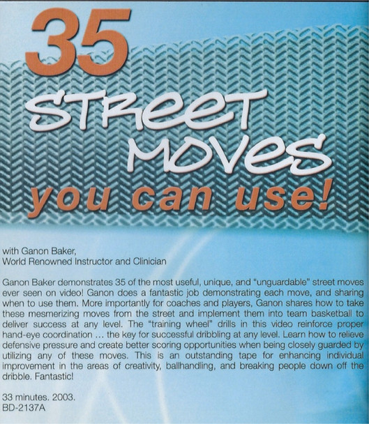 (Rental)-35 Street Moves You Can Use