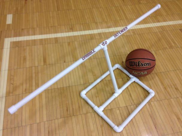 The Dribble Defender - basketball dribble aid - diagonal view