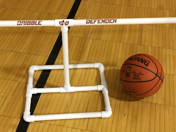 The Dribble Defender with basketball - basketball dribble aid