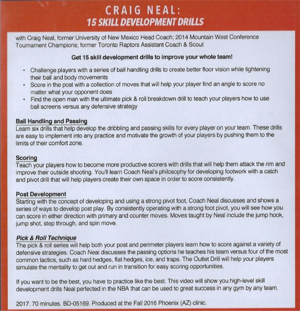 (Rental)-15 Skill Development Drills