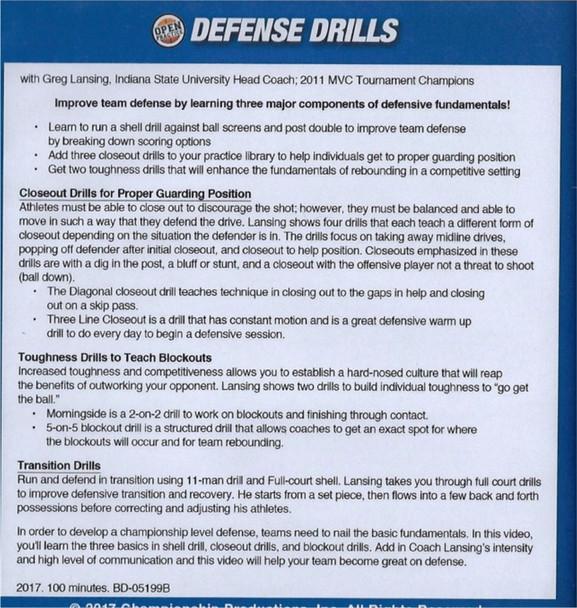 (Rental)-Defense Drills