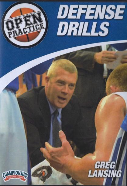 Defense Drills by Greg Lansing Instructional Basketball Coaching Video