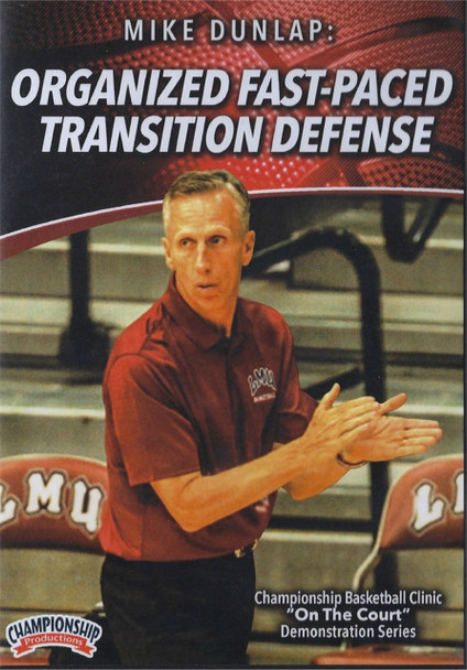 Organized Fast Paced Transition Defense by Mike Dunlap Instructional Basketball Coaching Video