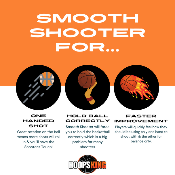 smooth shooter basketball shot training aid