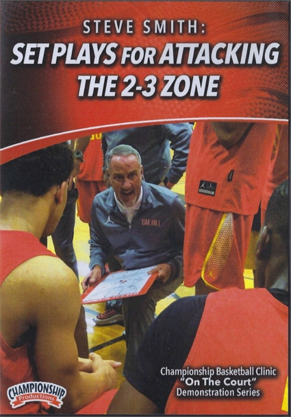 Set Plays For Attacking The 2-3 Zone Instructional Basketball Coaching Video