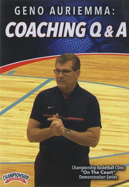 Geno Auriemma Coaching Q & A by Geno Auriemma Instructional Basketball Coaching Video