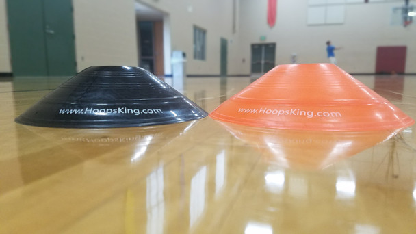 basketball cones for dribbling drills