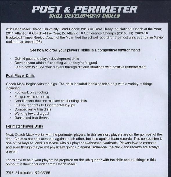 Perimeter Player Basketball Drills