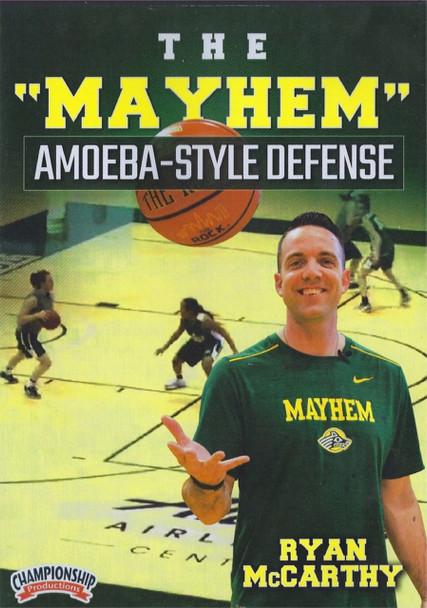 The Mayhem Amoeba Style Defense by Ryan McCarthy Instructional Basketball Coaching Video
