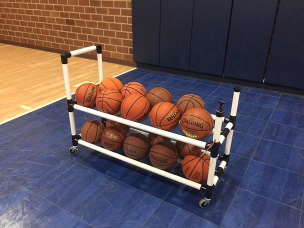 Power Dribble Ball Cart Basketball