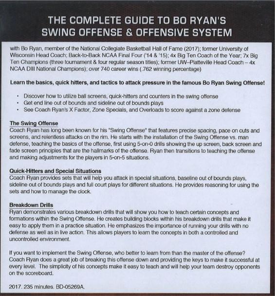 Bo Ryan's Swing Offense video