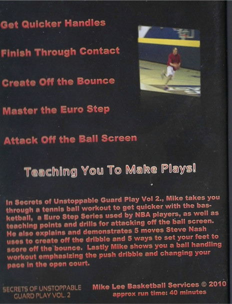 (Rental)-Mike Lee's Secrets Of Unstoppable Guard Play Vol. 2