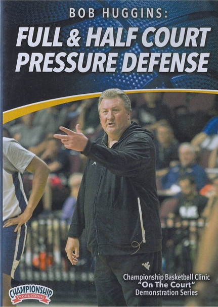 Bob Huggins: Full & Half Court Pressure Defense by Bob Huggins Instructional Basketball Coaching Video