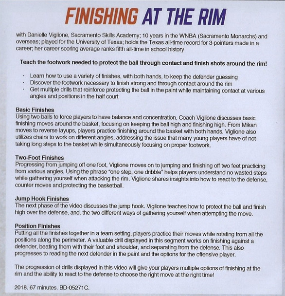 (Rental)-Finishing At The Rim