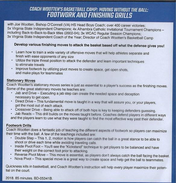 (Rental)-Wooten Basketball Camp: Footwork & Finishing Drills