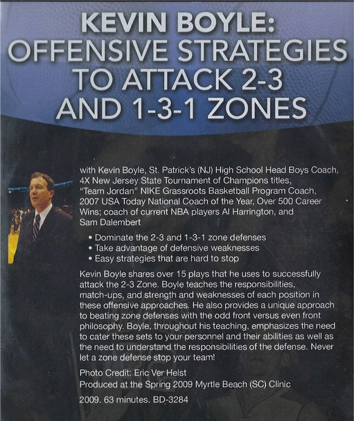 (Rental)-Offensive Strategies To Attack 2-3 & 1-3-1 Zones