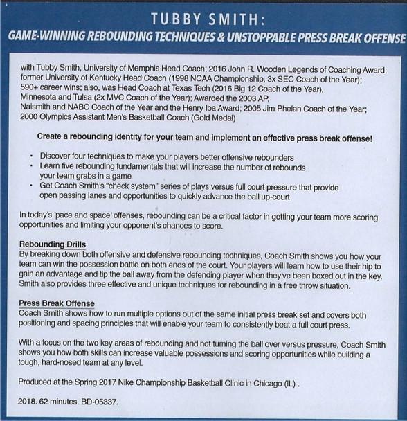 (Rental)-Game Winning Rebounding Techniques & Unstoppable Press Break Offense