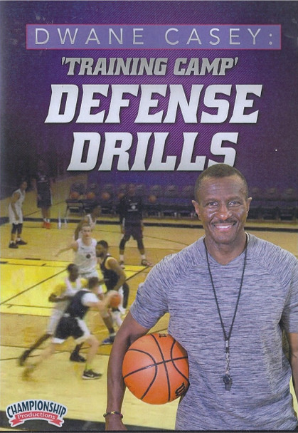 Training Camp Defensive Drills by Dwane Casey Instructional Basketball Coaching Video