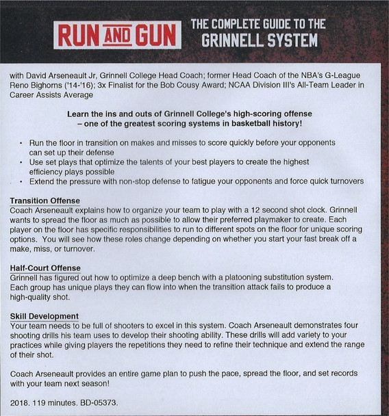 (Rental)-Run And Gun The Complete Guide To The Grinnell System