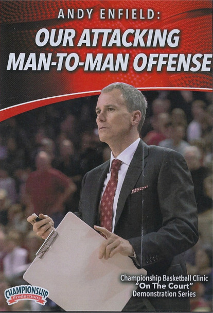 Our Attacking Man to Man Offense by Andy Enfield Instructional Basketball Coaching Video