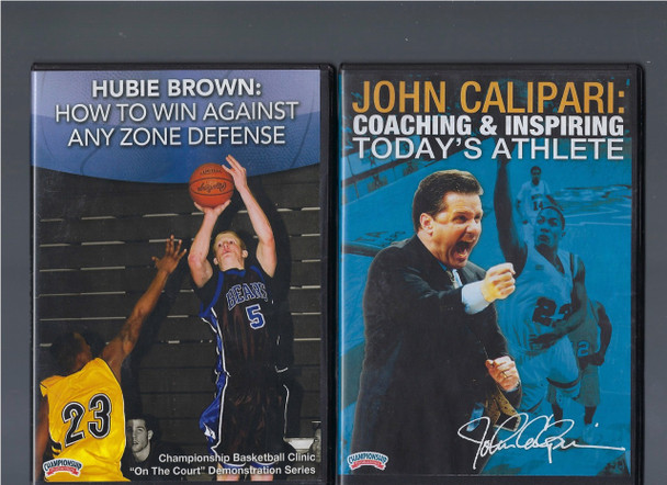 How To Win Against Any Zone Defense by Hubie Brown Instructional Basketball Coaching Video