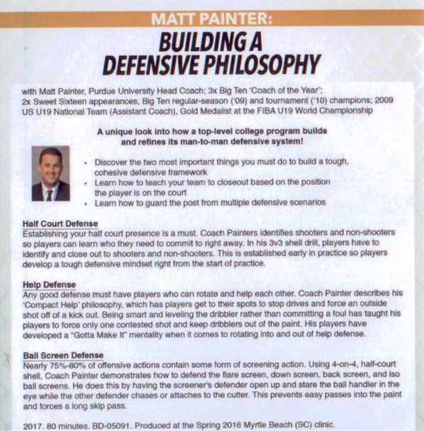 (Rental)-Building A Defensive Philosophy