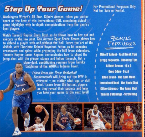 (Rental)-Spalding Learn From The Pros Basketball Fundamentals