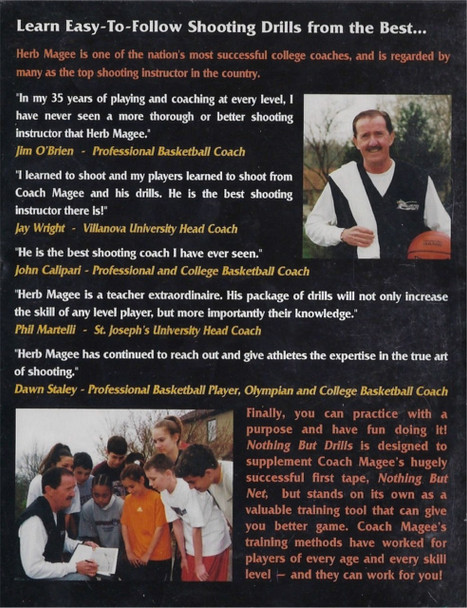 (Rental)-Nothing But Drills With Coach Herb Magee